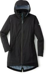 Kuhl Womens Jetstream Trench Jacket - Black - Large - New With Tags