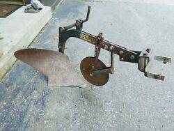 """Brinly 10"""" Plow Moldboard With Coulter Integral Sleeve Hitch Garden Tractor"""