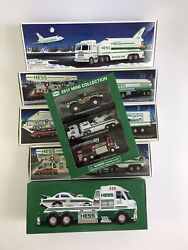 Vintage Hess Trucks Collection Lot Of 6 - Vtg Nib 1990's And 2000's