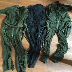 Original Early Mig-21 Pilot High Altitude Anti Gravity Pressure Flying Suit Dc-4