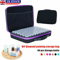 60slot Embroidery Diamond Painting Accessories Storage Boxes Case Nail Beads Art