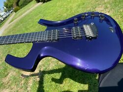 1995 Parker Fly Deluxe Purple Electric Guitar