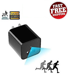 1080p Hd Usb Wall Charger Recorder Security Camera With Motion Mini Adapter Plug