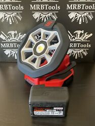 Snap On Cordless Li Ion Led Flood Work Shop Light Ctlfd8850 With 4ah Battery