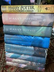 Harry Potter Complete First Edition Book Collection 8 In Excellent Condition