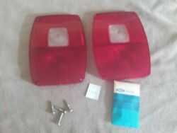 Vintage Parts Accessories 1967 Ford Step Side Pickup Truck Tail Light Lens Nos
