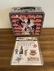 Fallout 4 Nuka-cola Collectable Lunchbox And Sticker Pack