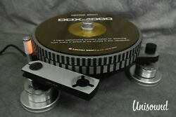 Micro Seiki Ddx-1000 Direct Drive Turntable In Very Good Condition