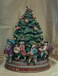 Fitz And Floyd 12 Days Of Christmas Eleven Drummers Drumming Cookie Jar 17