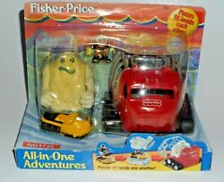 Fisher Price All In One Adventures Arctic Expedition Yeti Monster Snowmobile