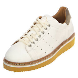 Original Grade Matchpoint Leather Shoes - Butter/taupe - Shoes Outline Bottom