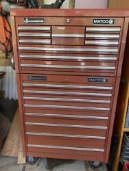Matco Excellerator Rollaway Tool Box And Top Chest