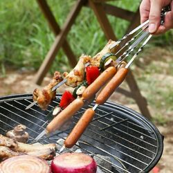 Bbq Grill Tools Set Stainless Steel Barbecue Utensils Kit Camping Spatula Fork