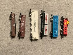 Bachmann Lot 1 Of Assorted N Scale Freight Cars In Excellent Condition