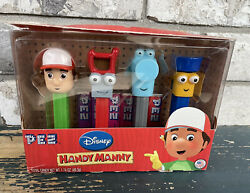 Disney Handy Manny Pez Limited Edition Collectible 4-pack Gift Set