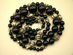 Old Real Antique Rare German Bakelite Amber Necklace Rosary Prayer Beads 94 Gr.