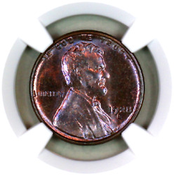 1928-s Ms64 Rb Ngc Lincoln Wheat Penny Registry Quality Collection