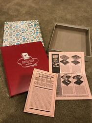 1964 White Ace Matchbook Cover Album + Pages + Inserts