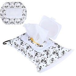 Cosmetic Pouch Clutch Storage Carrying Case Eco friendly Wet Wipes Bag $1.73