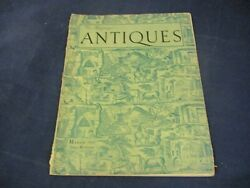 Vintage Antiques The Magazine March 1937 English Printed Toile Circa 1800