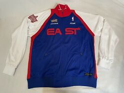 Rare Lebron James 2006 Nba All Star Jacket 22/40 Size Large New With Stains