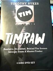 Timothy Sykes Timraw Realistic Behind The Scenes Lessons From Master Trader Dvd