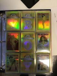 Playboy Chromium Cover Master Set Complete With All Autograph Cards