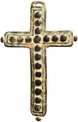 Awesome Antique 17th Century Crucifix Cross Old Spanish Pendant Found