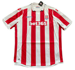 2016/17 Stoke City Home Jersey 7xl Macron Soccer Football Outsize Big And Tall New