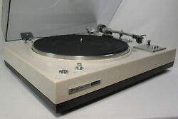 Kenwood Kd-3055 Fully Auto Turntable W/at11e Cart/new Stylus - Fully Functional