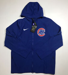 Nike Authentic Collection Chicago Cubs Full Zip Hoodie Size Xl Nwt