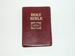 Vintage 1985 Special Wisdom Edition Original King James Topical Reference Bible