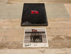 Laibach Liberation Days Laibach And North Korea Ltd Edition Book + Signed Card