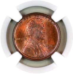 1910-s Ms64 Rb Ngc Lincoln Wheat Penny Registry Quality Collection