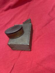 Antiques Lot Of Two Flip Top Tin And Early Snuff Late 1800's