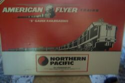 American Flyer By Lionel Northern Pacific 6-49602 Passenger Set C10