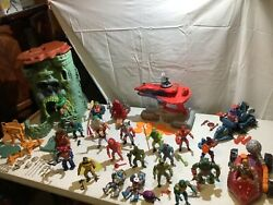 Vintage Masters Of The Universe Vehicle, Action Figure And Playset Lot
