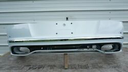 2016-2017 Bentley Continental Gt Speed Rear Bumper Cover Panel And Valance Oem
