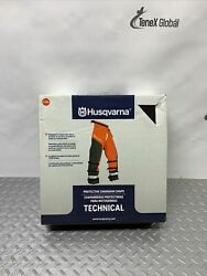Husqvarna Forest Protective Chainsaw Chaps Size 40–42, Model 585488005 Z-182