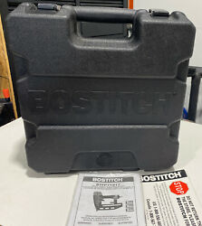 Bostitch Btfp71917 Smart Point 16 Gauge Finish Nailer Case And Manual Only