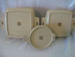 Lot 3 Littonware Microwavable 1 Qt. 1.5 Qt. And 2 Cup Round Bowl With Lids