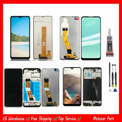 For Samsung A11 A12 A10 A20 A20e Lcd Display Touch Screen Digitizer Frame Tools