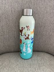 Disney Parks I Love Dogs Reigning Dogs Stainless Steel Water Bottle Tumbler New