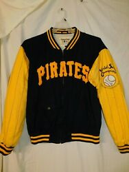 Mirage First String 'pittsburgh Pirates' World Series Coat/size Medium/pre-owned