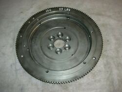 Corvair To Vw Trans. Flywheel 17 Lbs. 130 Tooth Ring Gear 12 Volt Vw Starter