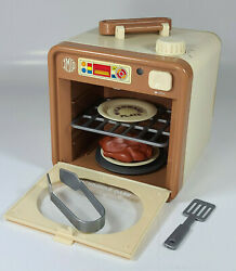 Vintage Imco Play Kitchen Microwave Oven Turntable Broiler Accessories Hong Kong