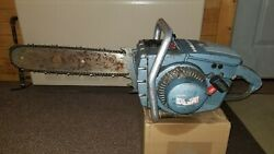 Homelite C5 Chainsaw 18 Bar And Chain Used Chainsaw