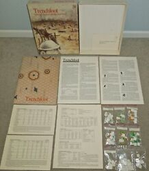 1981 Gdw Trenchfoot Bullets And Bayonets In The Great War, Ww1 Game, 100 Compl.