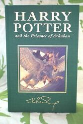 Harry Potter And The Prisoner Of Azkaban Deluxe Edition First Print Hb