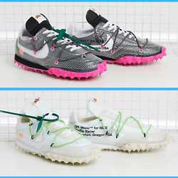 Nike Womenand039s Waffle Racer Off White Shoes White Black - Pick Your Color And Size